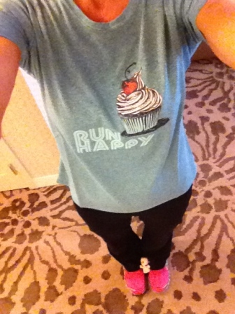 run happy cupcake
