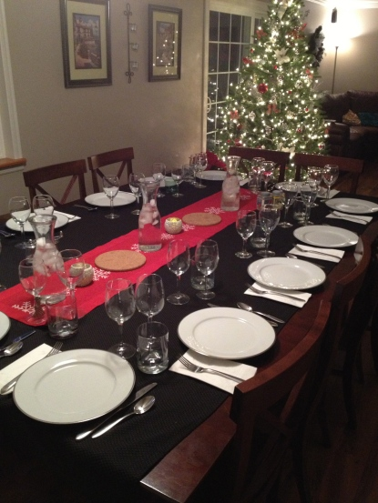 Hosting Wine Group at our house!