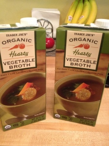 trader joes veggie broth