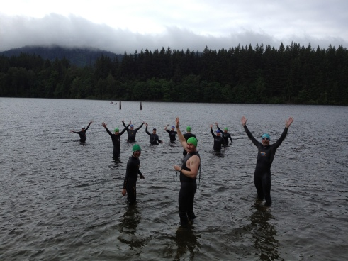 Coaching a great group of athletes to their first TRI through USA TRI FIT Bellingham