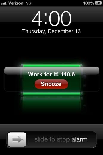 alarm set