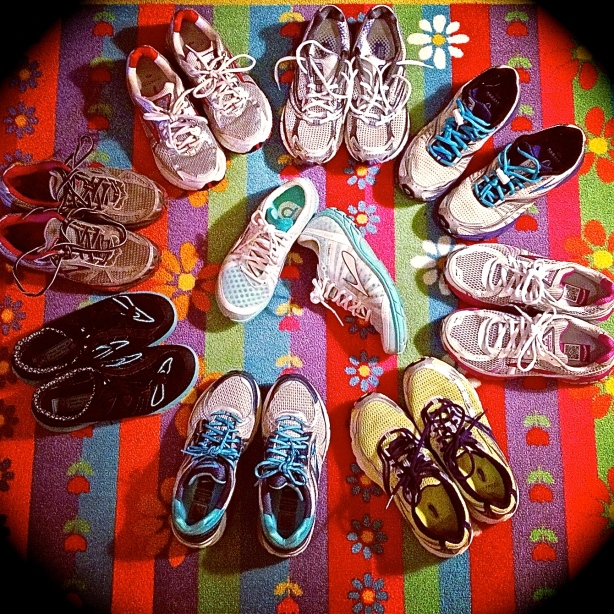 Brooks Running Shoes Party