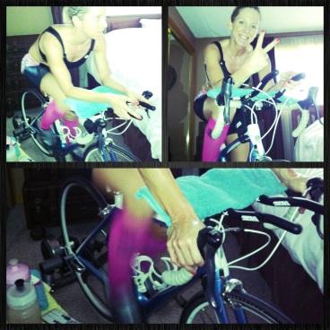 3 hr trainer session bike