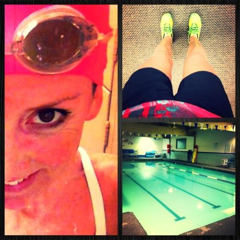 swim and run brick