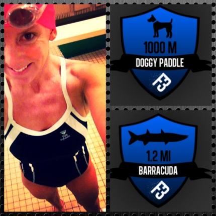 swim badge challenge