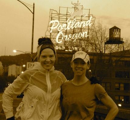running in Portland