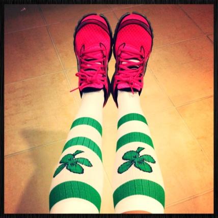 shamrock CEP socks
