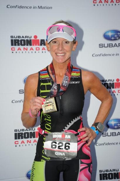 finish medal IM Canada