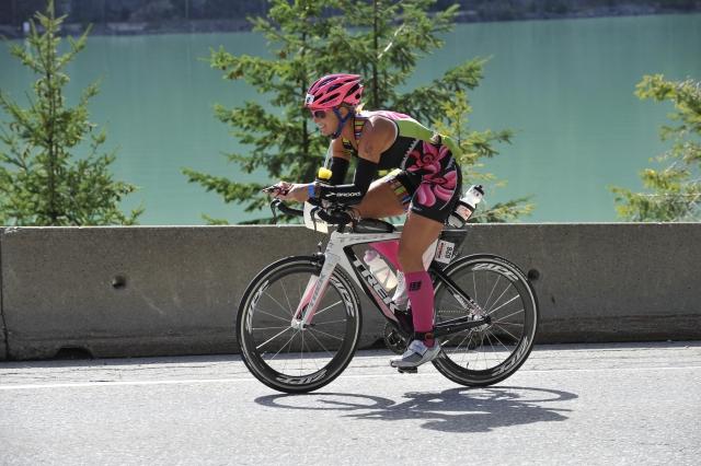 bike leg IM Canada