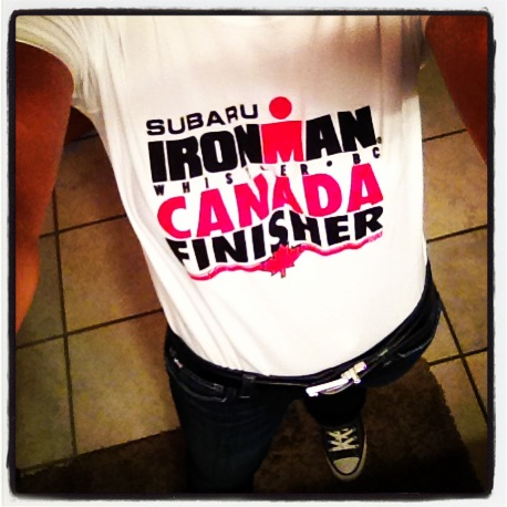 IM Canada finisher shirt