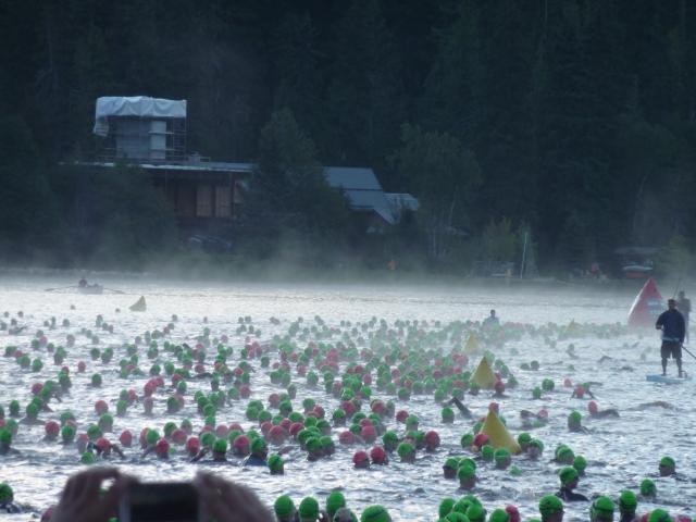 IM Canada swim start