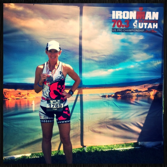 Finisher medal St George IM 70.3