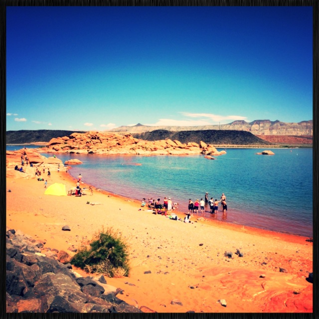 Sand Hollow Reservoir Beautiful