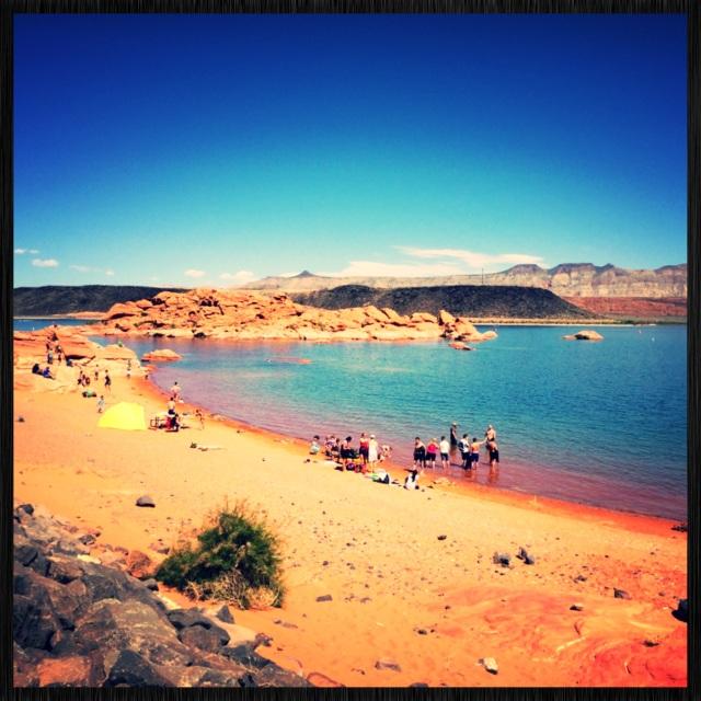 Sand Hollow Reservoir Beautiful