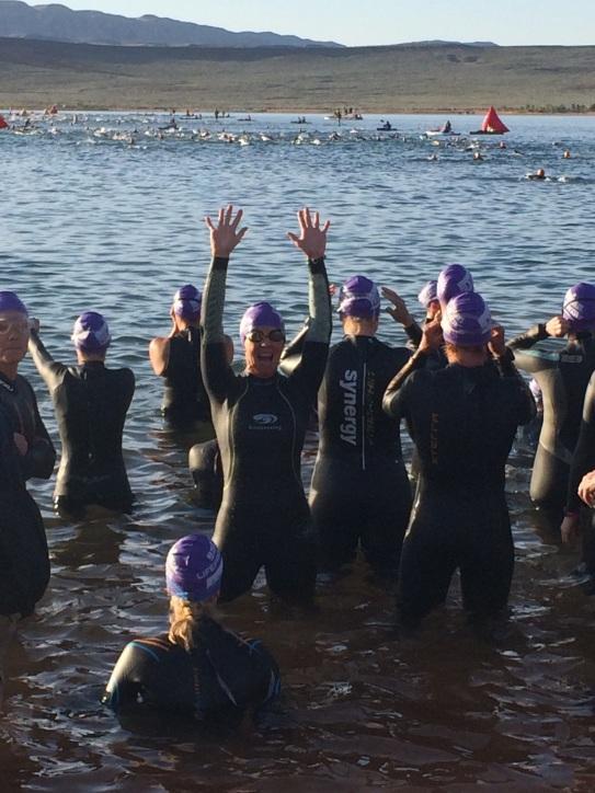 swim start St George 70.3