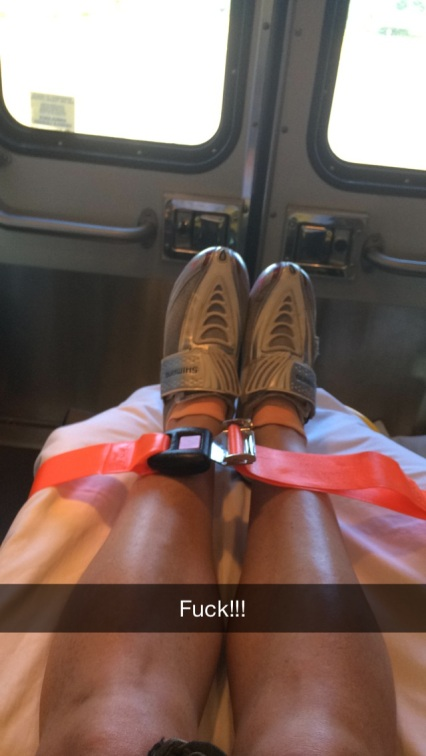 ambulance ride bike shoes