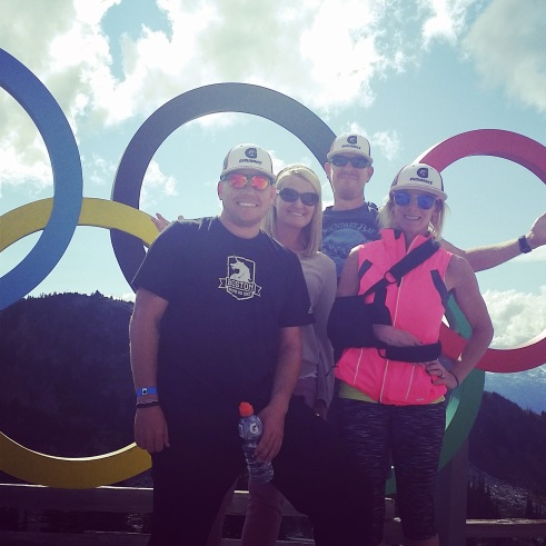 ironman whistler olympic rings