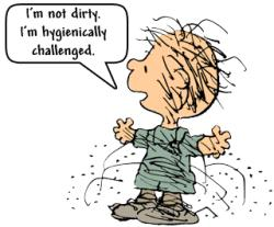 I'm not dirty
